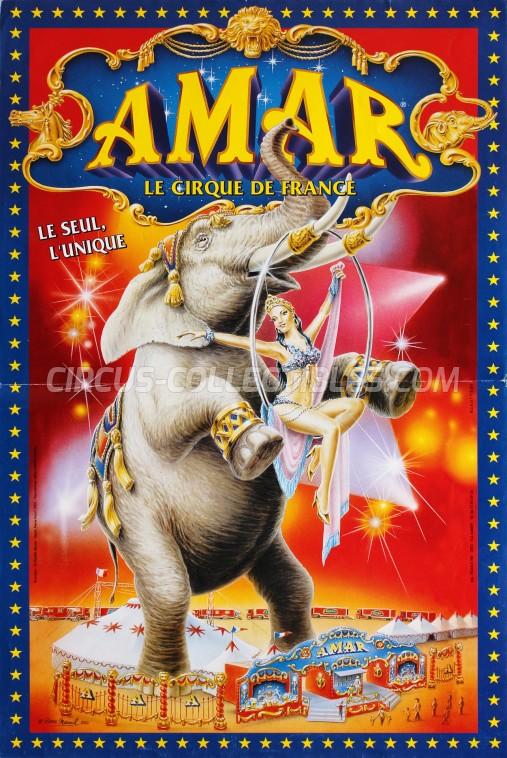Amar Circus Poster - France, 2002