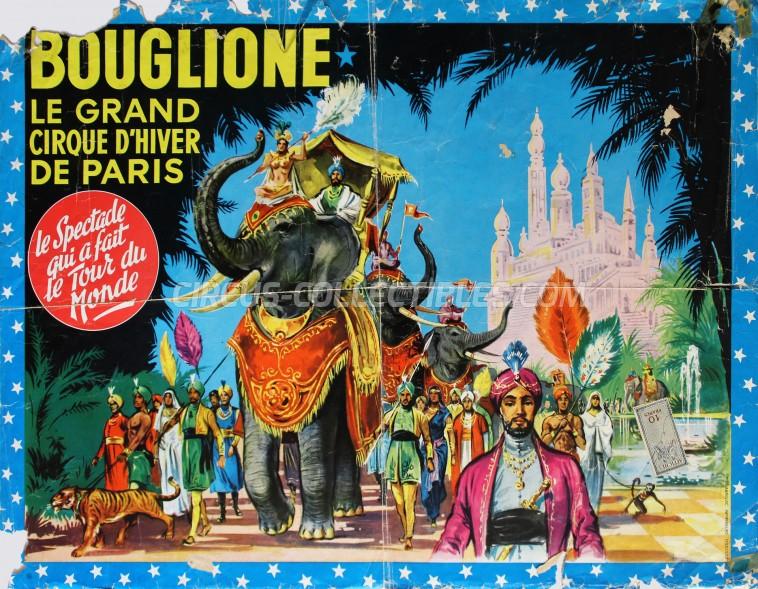 Bouglione Circus Poster - France, 1961