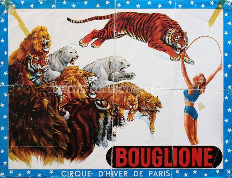 Bouglione Circus Poster - France, 0