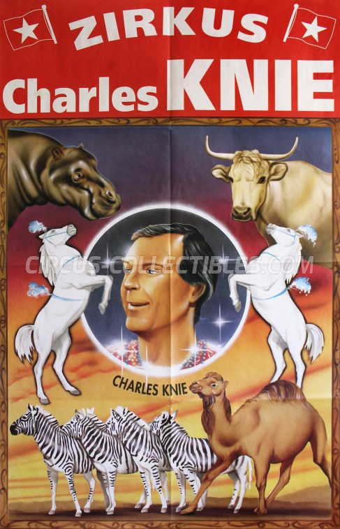 Charles Knie Circus Poster - Germany, 1997
