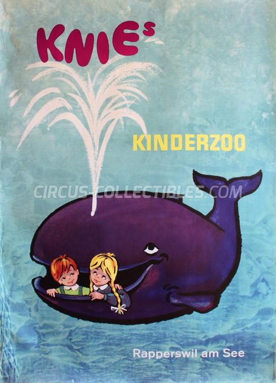 Knie Circus Poster - Switzerland, 1962