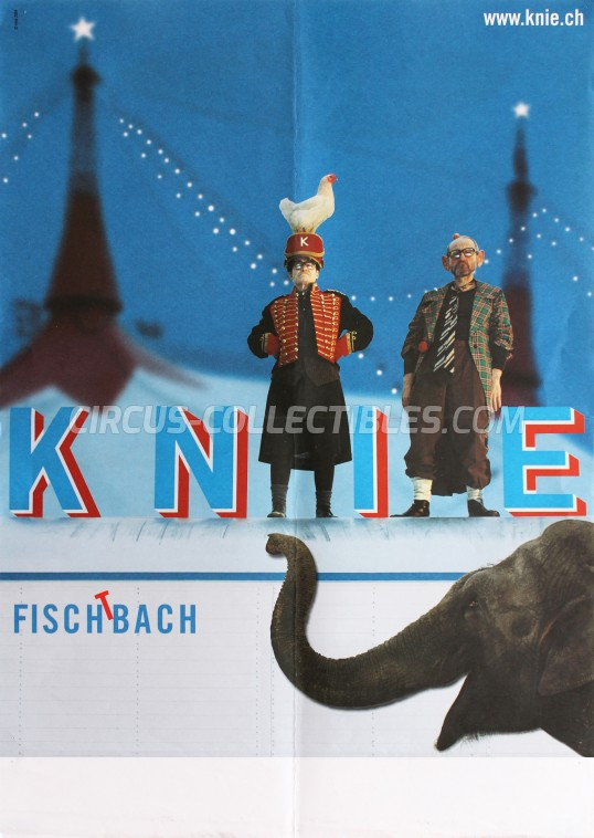 Knie Circus Poster - Switzerland, 2004
