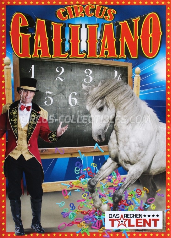 Galliano Circus Poster - Germany, 2017