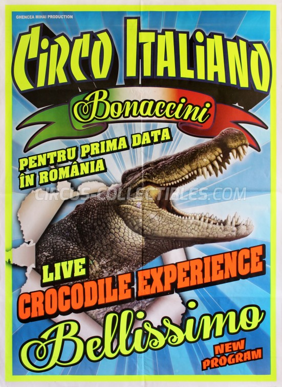 Circo Italiano Bonaccini Circus Poster - Romania, 2017