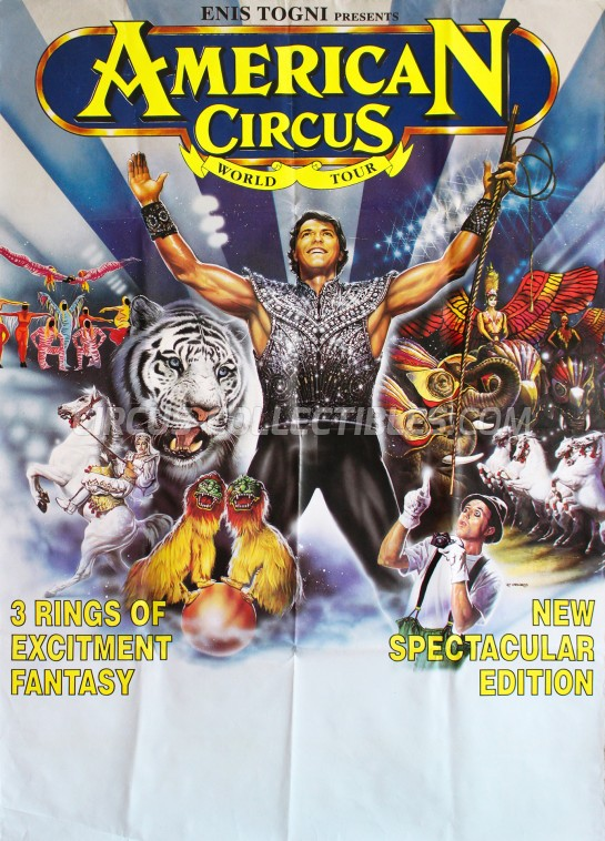 American Circus Circus Poster - Italy, 1998