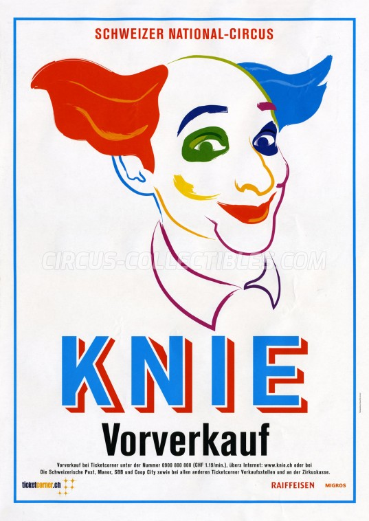 Knie Circus Poster - Switzerland, 2017
