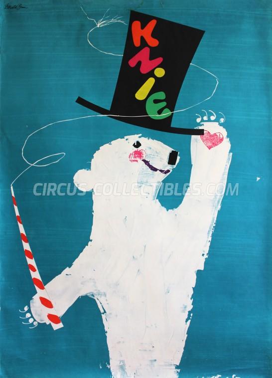 Knie Circus Poster - Switzerland, 1958