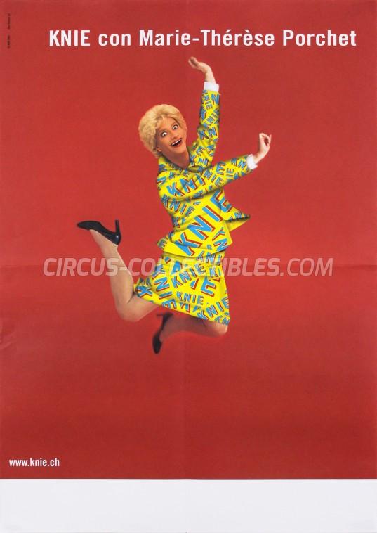 Knie Circus Poster - Switzerland, 2004