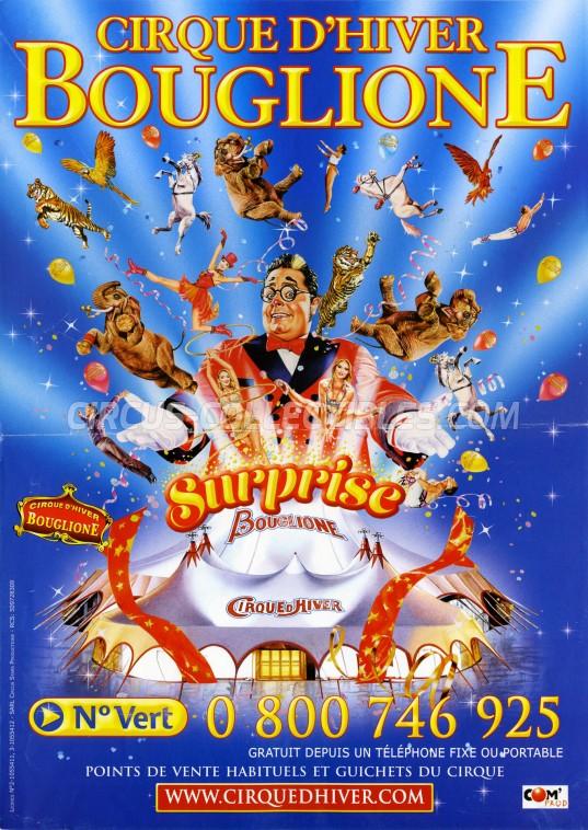 Bouglione Circus Poster - France, 2017