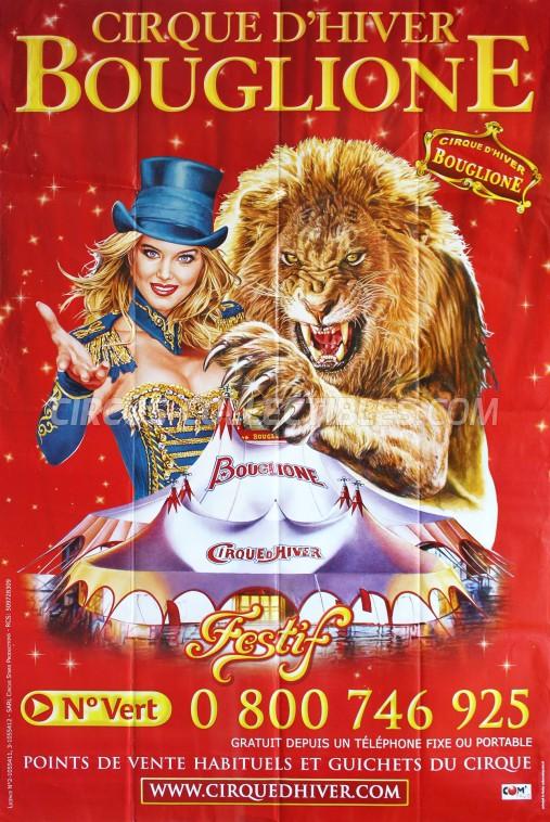 Bouglione Circus Poster - France, 2016