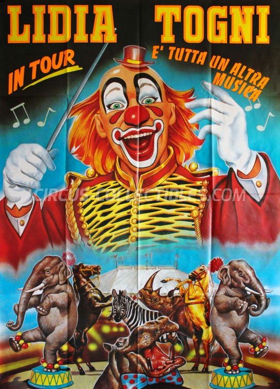 Lidia Togni Circus Poster - Italy, 1995