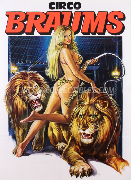 Braums Circus Poster - Italy, 1978