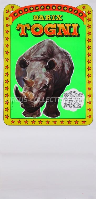 Darix Togni Circus Poster - Italy, 0