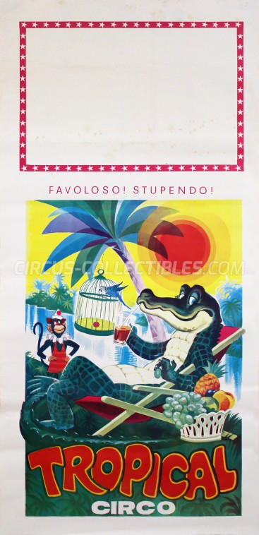 Tropical Circus Poster - Italy, 0