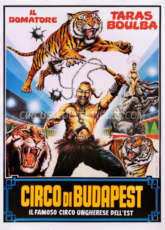 Circo di Stato di Budapest Circus Poster - Italy, 0