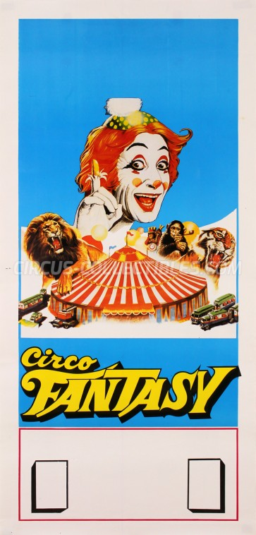 Fantasy Circus Poster - Italy, 0