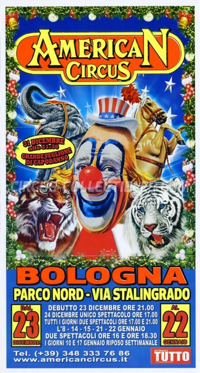 American Circus Circus Poster - Italy, 2016