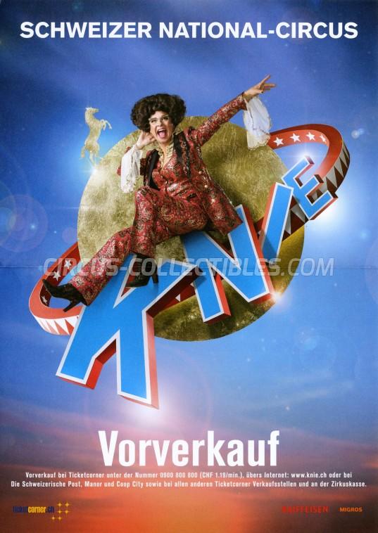 Knie Circus Poster - Switzerland, 2018