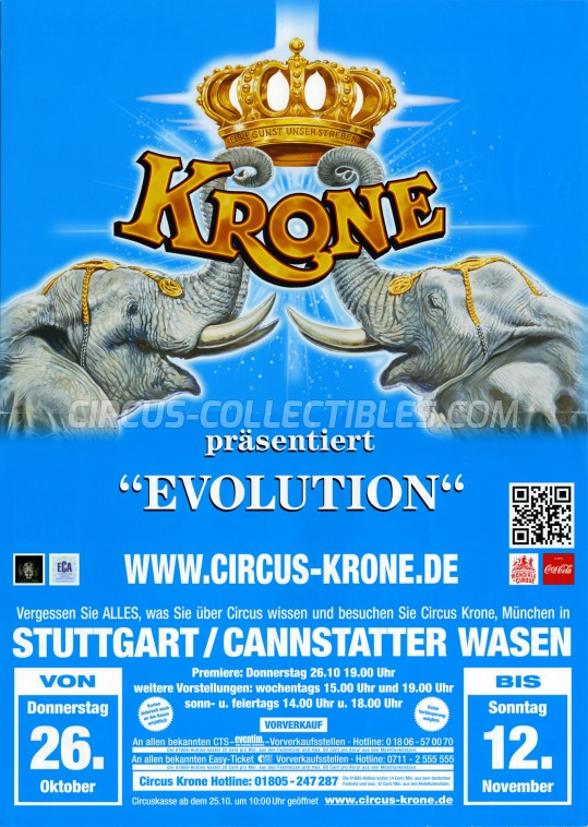 Krone Circus Poster - Germany, 2017