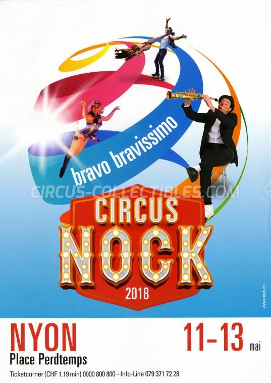 Nock Circus Poster - Switzerland, 2018
