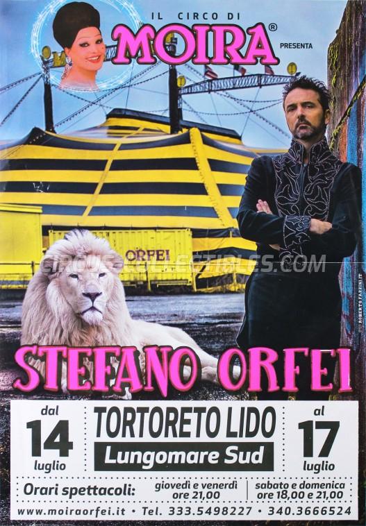 Moira Orfei Circus Poster - Italy, 2016