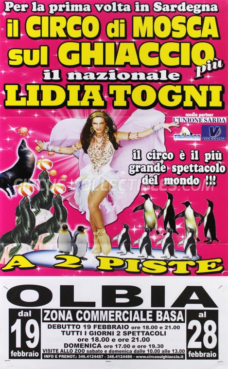 Lidia Togni Circus Poster - Italy, 2009