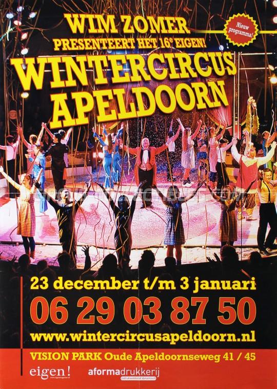 Wintercircus Apeldoorn Circus Poster - Netherlands, 2009
