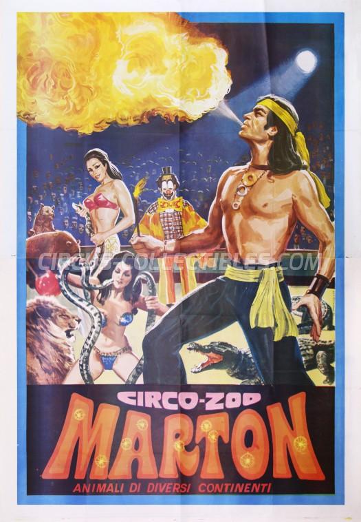 Marton Circus Poster - Italy, 0