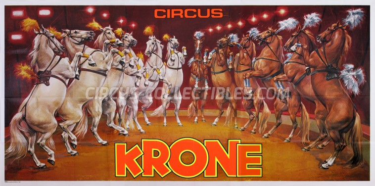 Krone Circus Poster - Germany, 0