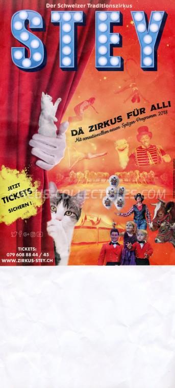 Stey Circus Poster - Switzerland, 2018