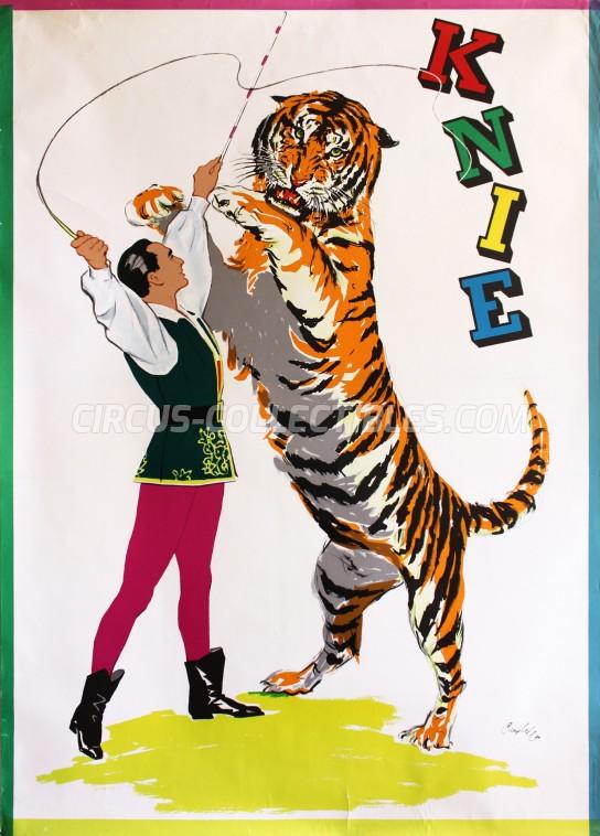 Knie Circus Poster - Switzerland, 1960