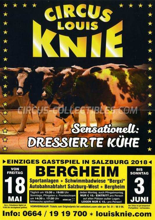 Louis Knie Circus Poster - Austria, 2018