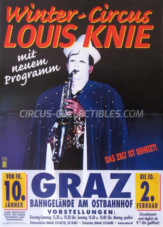 Louis Knie Circus Poster - Austria, 0