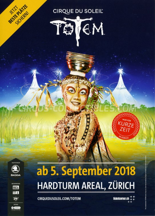 Cirque du Soleil Circus Poster - Canada, 2018
