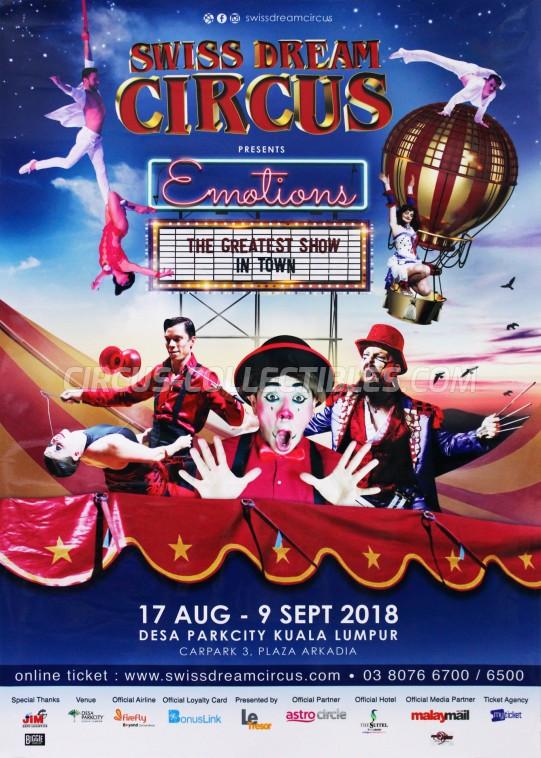 Swiss Dream Circus Circus Poster - Malaysia, 2018