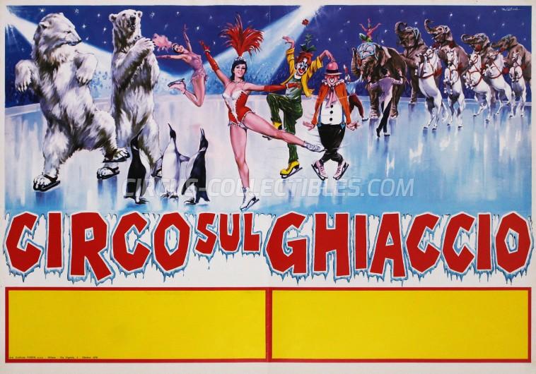 Moira Orfei Circus Poster - Italy, 1978