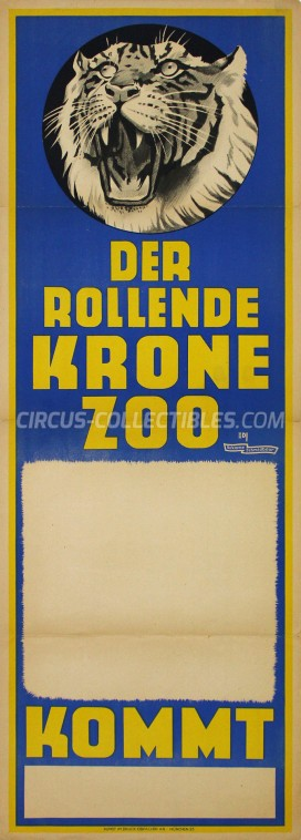 Krone Circus Poster - Germany, 1949