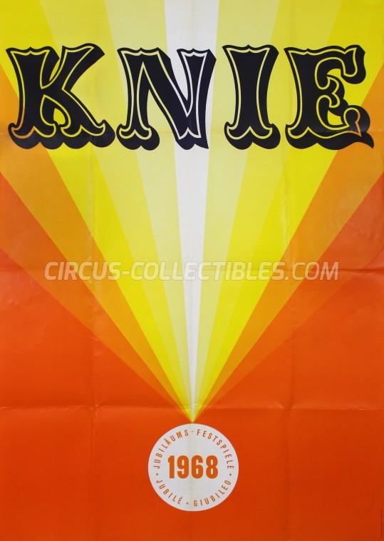 Knie Circus Poster - Switzerland, 1968