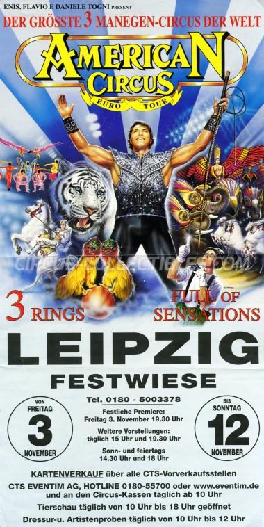 American Circus Circus Poster - Italy, 2000