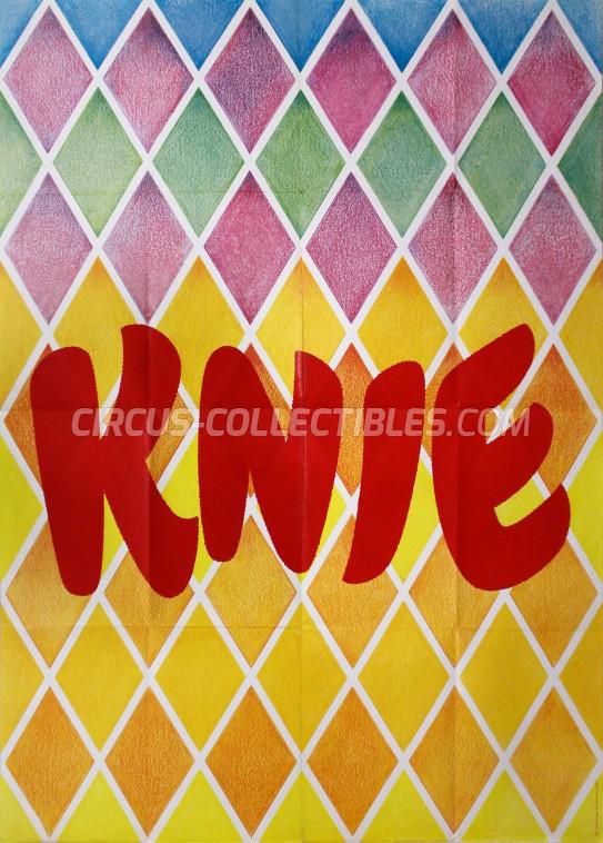 Knie Circus Poster - Switzerland, 1973