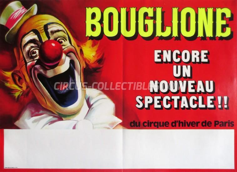 Bouglione Circus Poster - France, 1973