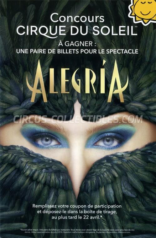 Cirque du Soleil Circus Poster - Canada, 2019