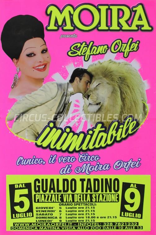 Moira Orfei Circus Poster - Italy, 2018