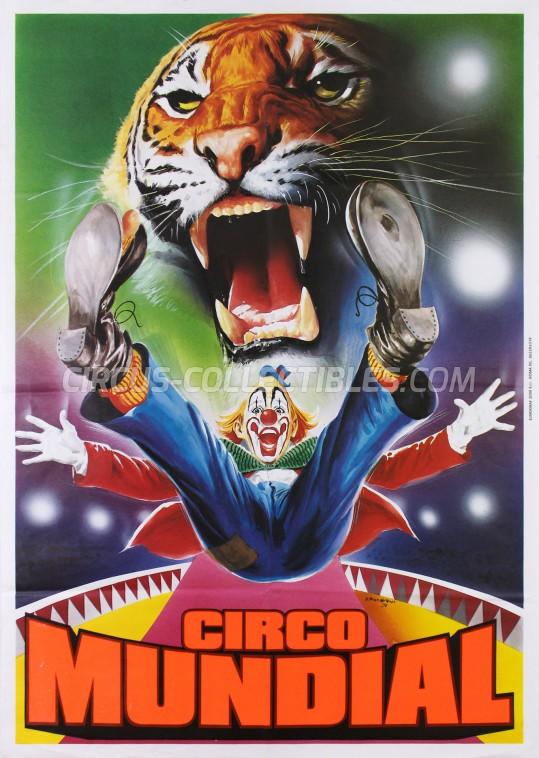 Mundial (IT) Circus Poster - Italy, 0