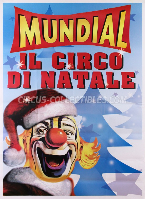 Mundial (IT) Circus Poster - Italy, 0