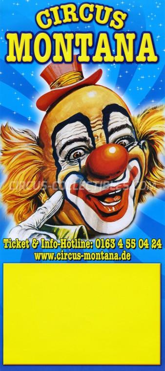 Montana Circus Poster - Germany, 2012