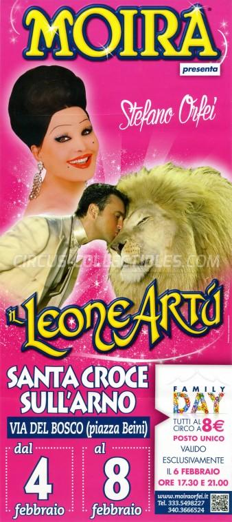 Moira Orfei Circus Poster - Italy, 2015