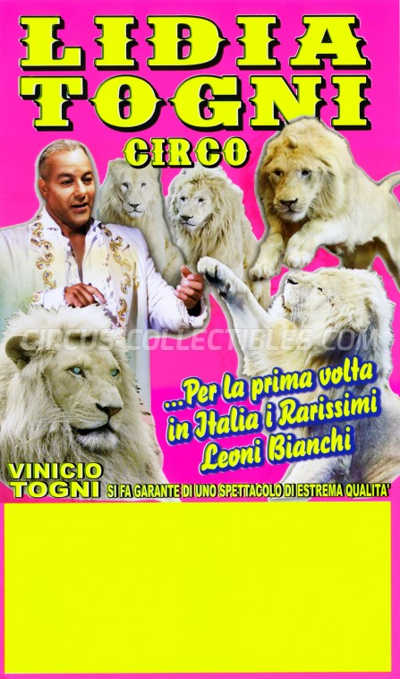 Lidia Togni Circus Poster - Italy, 2016