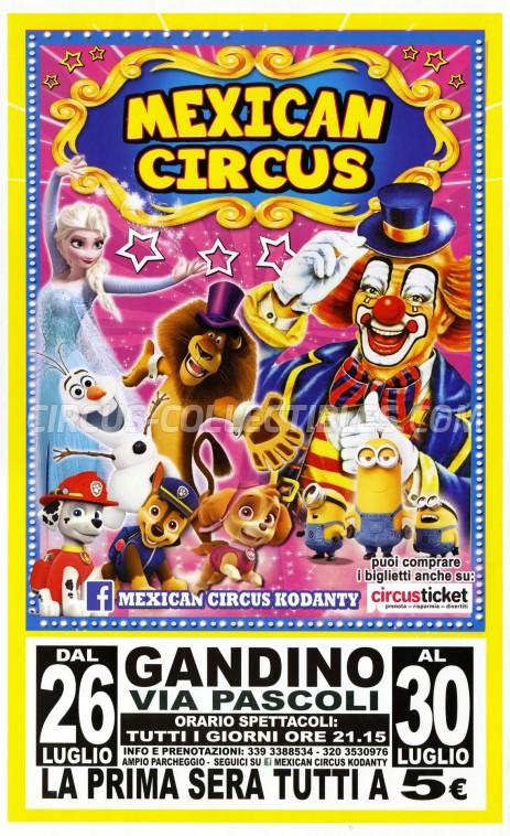 Mexican Circus Circus Poster - Italy, 2018