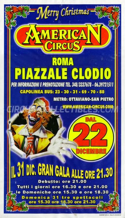 American Circus Circus Poster - Italy, 2006